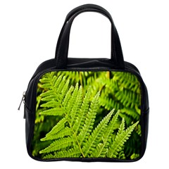 Fern Nature Green Plant Classic Handbags (One Side)