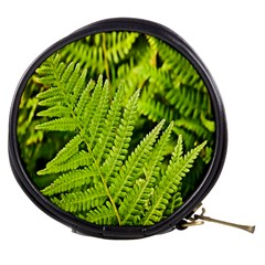 Fern Nature Green Plant Mini Makeup Bags
