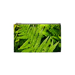 Fern Nature Green Plant Cosmetic Bag (Small)