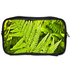 Fern Nature Green Plant Toiletries Bags