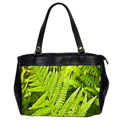 Fern Nature Green Plant Office Handbags (2 Sides)