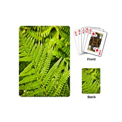 Fern Nature Green Plant Playing Cards (Mini)