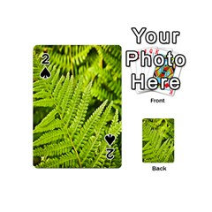 Fern Nature Green Plant Playing Cards 54 (Mini)