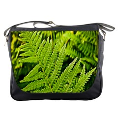 Fern Nature Green Plant Messenger Bags