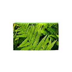 Fern Nature Green Plant Cosmetic Bag (XS)