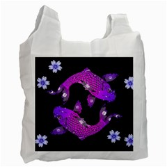 Koi Carp Fish Water Japanese Pond Recycle Bag (Two Side)
