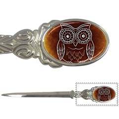 Owl Abstract Funny Pattern Letter Openers