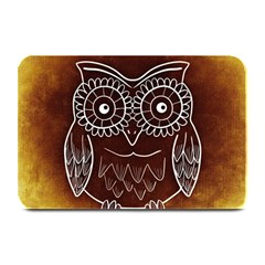Owl Abstract Funny Pattern Plate Mats