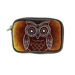 Owl Abstract Funny Pattern Coin Purse