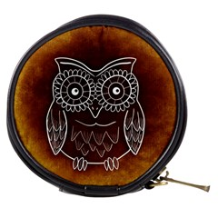 Owl Abstract Funny Pattern Mini Makeup Bags