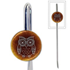 Owl Abstract Funny Pattern Book Mark