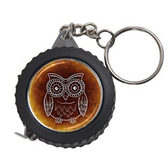 Owl Abstract Funny Pattern Measuring Tapes