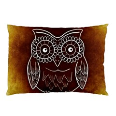 Owl Abstract Funny Pattern Pillow Case (two Sides)