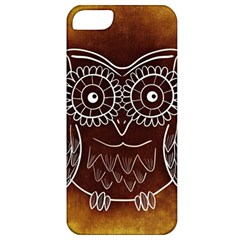 Owl Abstract Funny Pattern Apple Iphone 5 Classic Hardshell Case