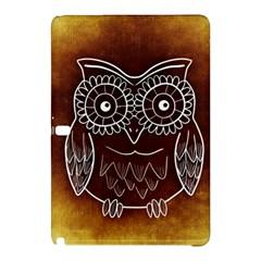 Owl Abstract Funny Pattern Samsung Galaxy Tab Pro 10.1 Hardshell Case