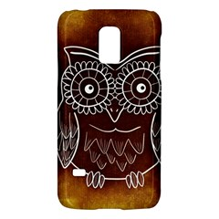 Owl Abstract Funny Pattern Galaxy S5 Mini