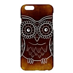Owl Abstract Funny Pattern Apple iPhone 6 Plus/6S Plus Hardshell Case