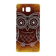 Owl Abstract Funny Pattern Samsung Galaxy Alpha Hardshell Back Case