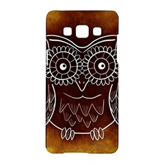 Owl Abstract Funny Pattern Samsung Galaxy A5 Hardshell Case