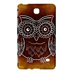 Owl Abstract Funny Pattern Samsung Galaxy Tab 4 (8 ) Hardshell Case
