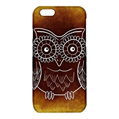 Owl Abstract Funny Pattern iPhone 6/6S TPU Case