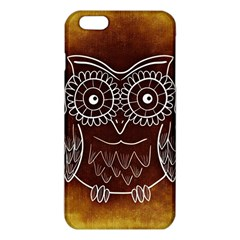Owl Abstract Funny Pattern iPhone 6 Plus/6S Plus TPU Case