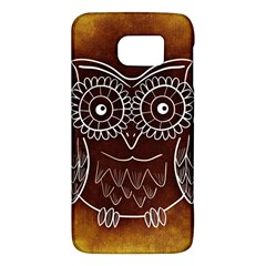 Owl Abstract Funny Pattern Galaxy S6