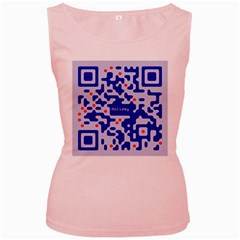 Qr Code Congratulations Women s Pink Tank Top