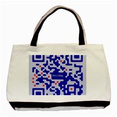 Qr Code Congratulations Basic Tote Bag