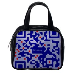 Qr Code Congratulations Classic Handbags (One Side)