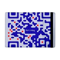 Qr Code Congratulations Apple Ipad Mini Flip Case