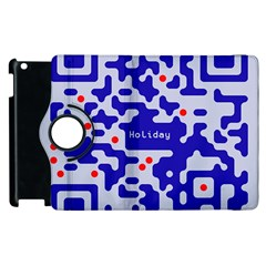 Qr Code Congratulations Apple Ipad 3/4 Flip 360 Case