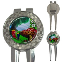 Kindergarten Painting Wall Colorful 3 In 1 Golf Divots