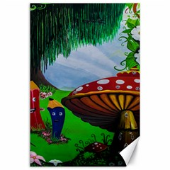 Kindergarten Painting Wall Colorful Canvas 24  x 36