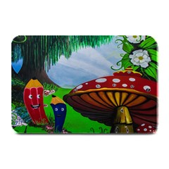 Kindergarten Painting Wall Colorful Plate Mats