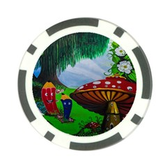 Kindergarten Painting Wall Colorful Poker Chip Card Guard
