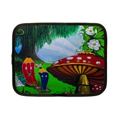 Kindergarten Painting Wall Colorful Netbook Case (small)