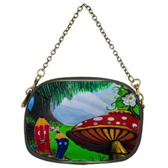 Kindergarten Painting Wall Colorful Chain Purses (One Side)