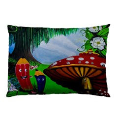 Kindergarten Painting Wall Colorful Pillow Case