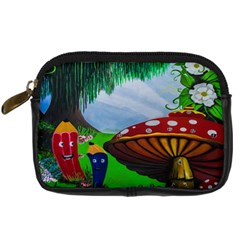 Kindergarten Painting Wall Colorful Digital Camera Cases