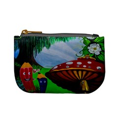 Kindergarten Painting Wall Colorful Mini Coin Purses
