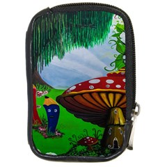 Kindergarten Painting Wall Colorful Compact Camera Cases