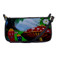 Kindergarten Painting Wall Colorful Shoulder Clutch Bags