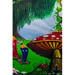 Kindergarten Painting Wall Colorful 5.5  x 8.5  Notebooks