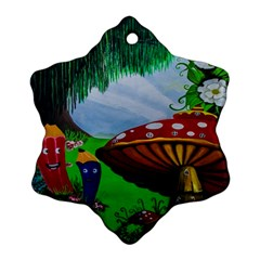 Kindergarten Painting Wall Colorful Ornament (Snowflake)