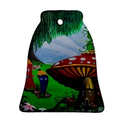 Kindergarten Painting Wall Colorful Ornament (Bell)