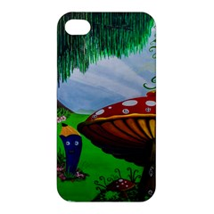 Kindergarten Painting Wall Colorful Apple iPhone 4/4S Hardshell Case
