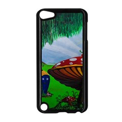 Kindergarten Painting Wall Colorful Apple iPod Touch 5 Case (Black)