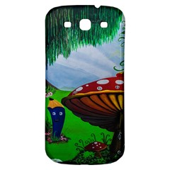 Kindergarten Painting Wall Colorful Samsung Galaxy S3 S III Classic Hardshell Back Case