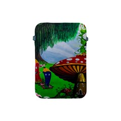 Kindergarten Painting Wall Colorful Apple Ipad Mini Protective Soft Cases